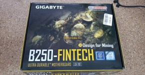 Gigabyte B250-FinTech 12 GPU Mininig Motherboard Box