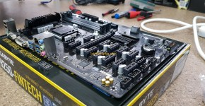 Gigabyte B250-FinTech 12 GPU Mininig Motherboard Side 2