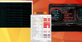 Gigabyte GTX 1060 G1 Gaming 6G Mining Rig Ethereum Mining Hashrate