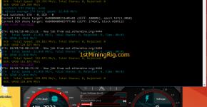 MSI GTX 1060 6GB Gaming X Ethereum Dual Mining Decred Hashrate