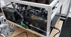 MSI GTX 1060 6GB Gaming X Mining Rig Hashrate, Power Consumoptions and Hardware 4