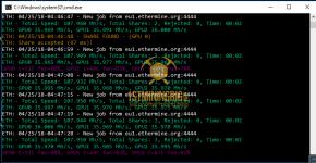MSI GTX 1080 Ti Ethereum Hashrate 1