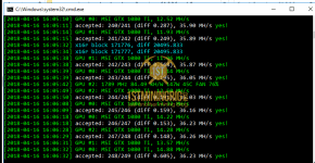 gtx 1080 ti 3x gpu mining rig CCminer v2.2.5 hashrate benchmark 2
