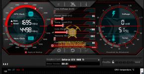 gtx 1080 ti 3x gpu mining rig msi afterbuner clocks settings for ravencoin
