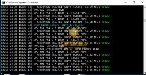 gtx 1080 ti 3x gpu mining rig ravenminer v2.6 miner hashrate benchmark 2
