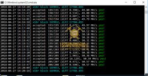 gtx 1080 ti 3x gpu mining rig silent miner v1.1.0 hashrate benchmark 1