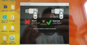 Digital BitBox Application Upgrade Confirmation