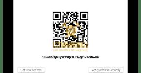 Digital BitBox Bitcoin Address