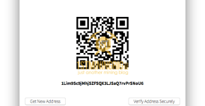Digital BitBox Bitcoin Address