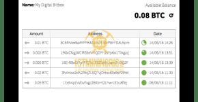 Digital BitBox History
