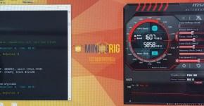 Gigabyte P104-100 4GB Ethereum Dual Mining Decred Hashrate Overclock