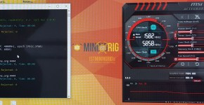 Gigabyte P104-100 4GB Ethereum Dual Mining LBRY Credits Hashrate Overclock