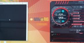 Gigabyte P104-100 4GB Monero CryptoNight Mining Hashrate Overclock