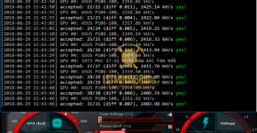 ASUS GTX P106-100 Mining Edition Luxcoin PHI2 Mining Hashrate