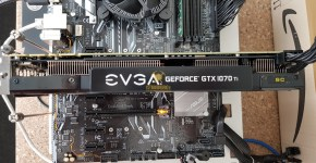 EVGA GTX 1070 Ti Mining Power Draw