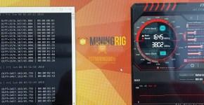 EVGA GTX 1070 Ti Nexus SHA3 Mining Hashrate
