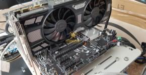 EVGA GTX 1070 Ti SC Gaming Black Edition Mining Performance Hashrate