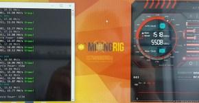Gigabyte GTX 1080 Ti Ravencoin X16R Mining Hashrate Overclock