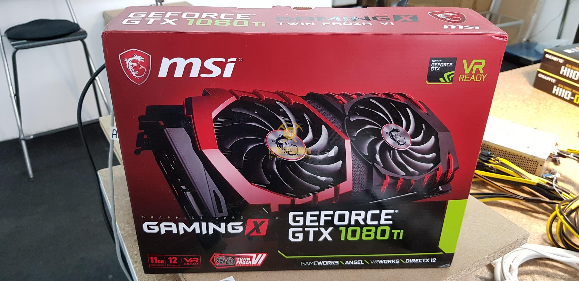 MSI GTX 1080 Ti Gaming X Mining Performance Review - 1st Mining Rig