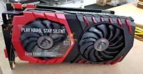 MSI GTX 1080 Ti Unboxing 1