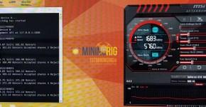 MSI GTX 1080 Ti Zcash Equihash Mining Hashrate Overclock