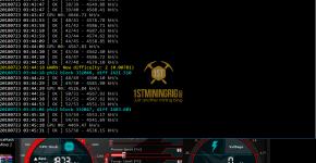 Gigabyte GTX 1070 Ti T-Rex 0.5.1 PHI2 Algorithm Mining Hashrate
