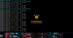 Gigabyte GTX 1070 Ti T-Rex 0.5.1 X17 Algorithm Mining Hashrate