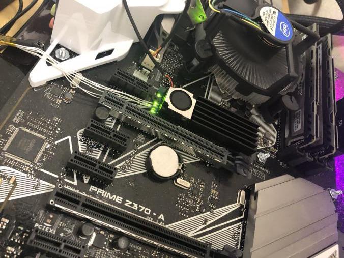 Acorn M 2 FPGA Based GPU Accelerator - Is GPU Mining Stronger than