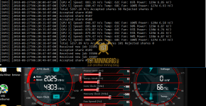 Gigabyte GTX 1060 6GB Bminer Tensority Bytom Mining Hashrate