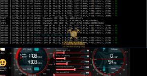 Gigabyte GTX 1070 Ti z-Enemy PHI2 Luxcoin Mining Hashrate