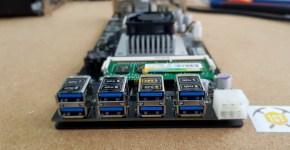Rebtech Mining Motherboard 8 x PCIex via USB3.0 Connectors