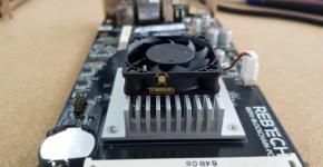 Rebtech Mining Motherboard CPU