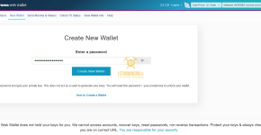 Create Akroma Wallet