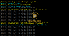 RX 580 8GB Monero CryptoNightV8 Mining Hashrate with Cast XMR Miner