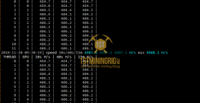 RX 580 8GB Monero CryptoNightV8 Mining Power Draw with XMRig AMD Miner
