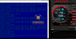 GTX 1080 Ti Beam Equihash 150,5 Mining Hashrate, Clocks and Power Draw