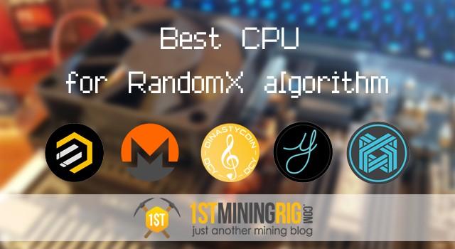 Best CPU to Mine Monero RandomX - Building Your Own Rig ...