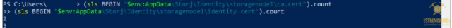 4 additional storj node confirm idtendity