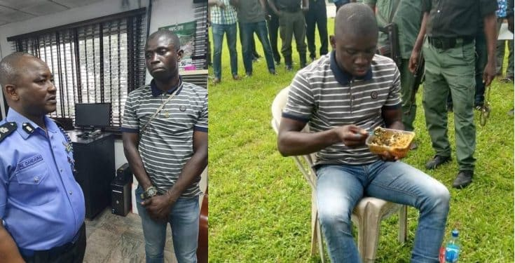 Port Harcourt: Serial killer receives first class treatment during parade