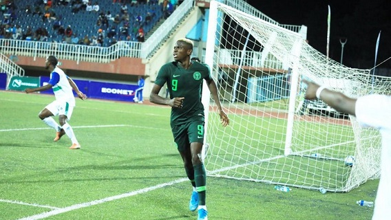Osimhen: Nigerians praise five-star performance in victory over Lesotho