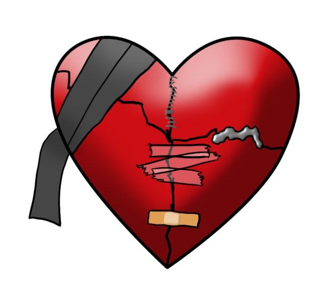 Steps to mend a broken heart