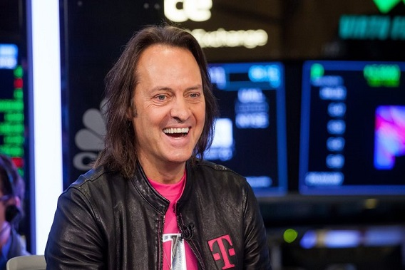 WeWork in talks with Legere of T-Mobile for CEO job