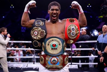 Anthony Joshua, heavyweight champ, eager to defend titles in Nigeria