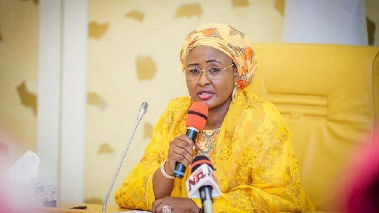 Aisha Buhari: Nigerians carpet First Lady over latest row with Mamman Daura, Garba Shehu