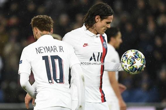 Neymar gets Tuchel praise after Cavani penalty