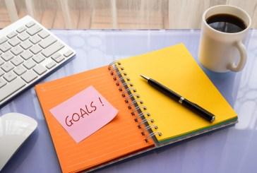 How do you set goals at work?