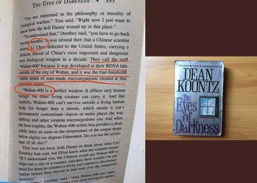Coronavirus: Did author Dean Koontz predict outbreak in 1981 book 'The Eyes of Darkness'?