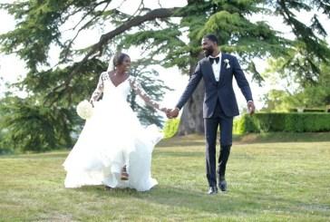 Mike Edwards celebrates 1st wedding anniversary