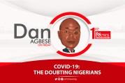COVID-19: The doubting Nigerians - Dan Agbese