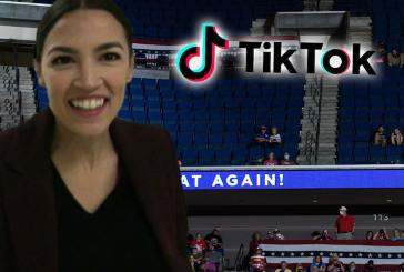 Trump rudely punked at his own rally, Alexandria Ocasio-Cortez enjoys moment